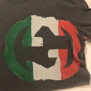 Gucci Shirts - Gucci Logo T-Shirt